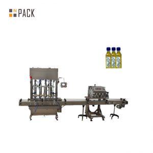 Outomatiese 1-5L suierbottelmasjienolie-vloeistofvulmasjien