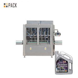5-5000 ml enkelkop pneumatiese suier heuning vulmiddel plak vul masjien vir vloeibare bottel